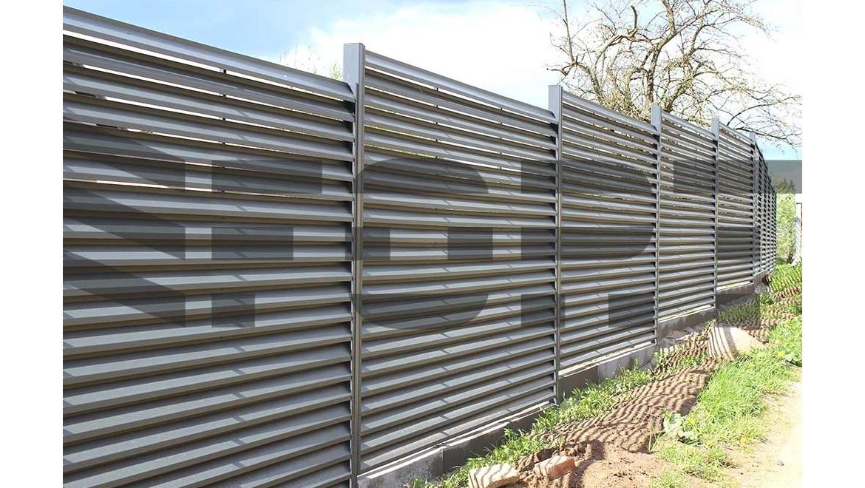 забор жалюзи fort comfort для участка