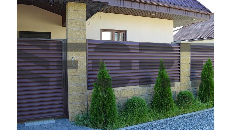 Забор жалюзи  fot lux для двора