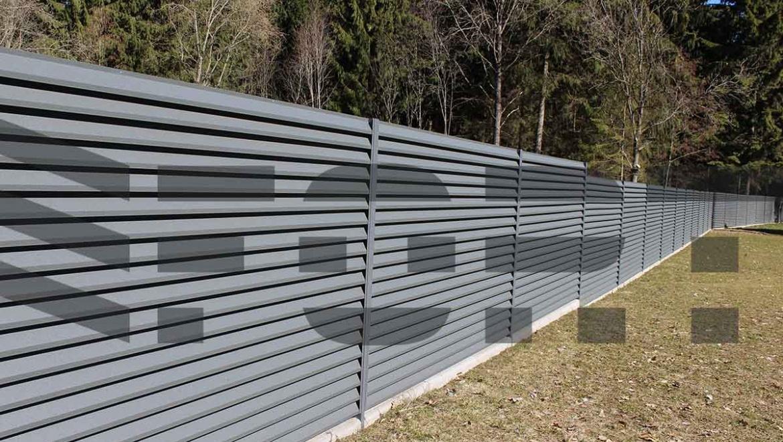 забор жалюзи fort lux для фабрики
