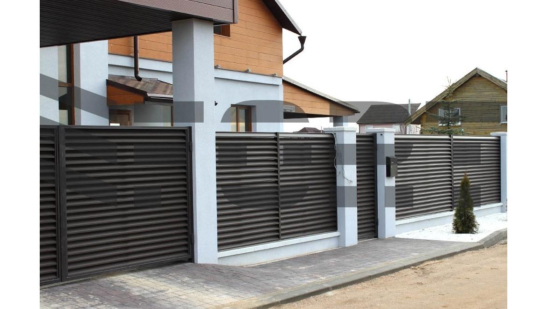Заборы и ограды для загородного дома