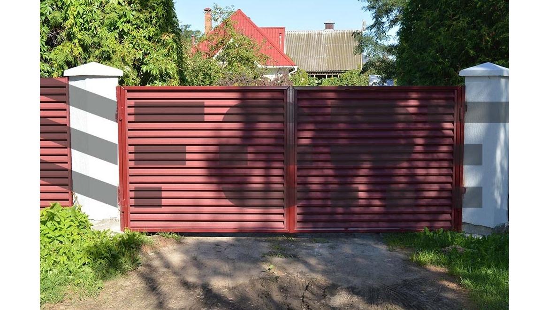 Ворота распашные от 799 руб. за к-т