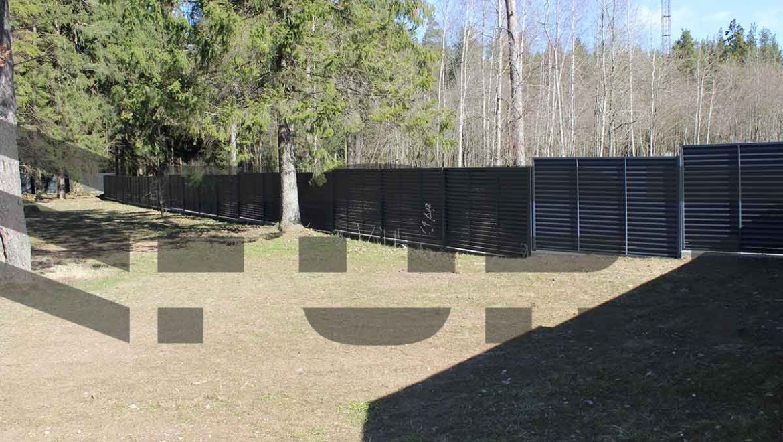 Забор для административных зданий