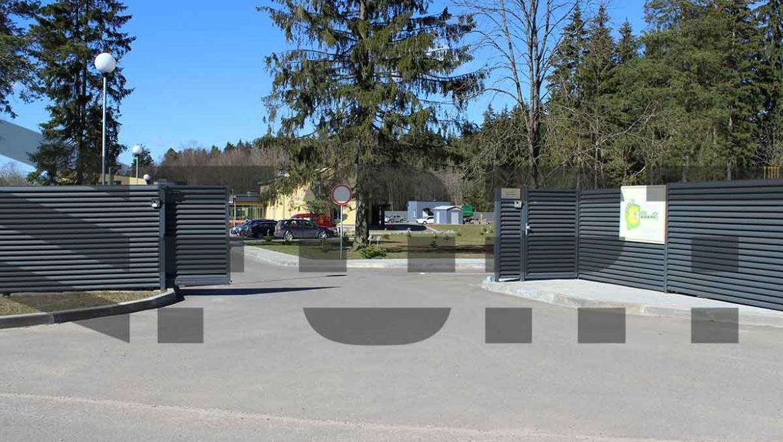 Ворота откатные от 1199 руб. за к-т